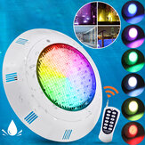 AC/DC12V 35W 360LED RGB Underwater Swimming Pool Light 2835SMD IP68 Remote Control Fountain Lamp