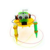 DIY الكهربائية كتابات روبوت DIY لعبة تعليمية روبوت تجميعها لعبة للأطفال