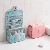 ハンギングトイレタリーバッグ旅行オーガナイザー化粧ウォッシュメイクアップバッグケース女性のトイレタリーキット化粧品バッグ旅行アクセサリー