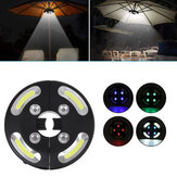 Draagbare 3-standen Draadloze COB Led Light Pole Light Outdoor Garden Yard Lawn Night Lights Tent Lamp