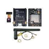 ESP32-CAM-MB-WiFi MICRO USB ESP32 Serial para WiFi Placa de desenvolvimento ESP32 CAM CH340G 5V Bluetooth + Câmera OV2640 + 2.4G Antena IPX