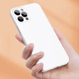 Baseus for iPhone 12 Pro Case Dirtproof Anti-Fingerprint Shockproof with Lens Protector Liquid Silicone Protective Case