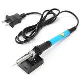 110V/220V 60W Adjustable Temperature Welding Solder Soldering Iron Tool Kit EU/US Plug