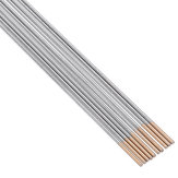 10Pcs WL15 1.0x150mm TIG Welding Tungsten Electrodes Golden Tip Rods Set