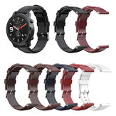Bakeey 20mm Genuine Leather Replacement Strap Smart Watch Band for Zeblaze GTR / Amazfit GTR 42MM