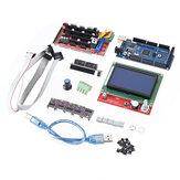 Rampen 1.6 Motherboard + 5 Stück DRV8825 Schrittmotortreiber + Mega 2560 R3 Reprap-Modell + LCD 12864 3D-Drucker Teil Satz