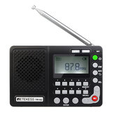 Retekess TR102 FM AM SW Radio World حزام Recorder MP3 Player REC Recorder