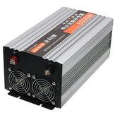 5000 W 60Hz Saf Sinüs Dalga Inverter Çift LED Ekran Power Inverter 12 V / 24/48 / DC'den 220 V AC Dönüştürücü