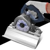 Drillpro 45 Grad Keramikfliesen Fase Schneidform Abgeschrägte Gehrungsschneidemaschine Fase Rahmenmontage Sägeschneider Sitz
