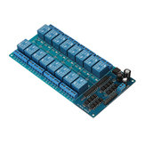 BESTEP 16 Channel 24V Relay Module LM2596 With Optocoupler Protection Low Level Trigger For Auduino