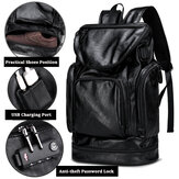 Men Leisure Travel Multifunctional Multi-Carry Backpack
