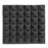 5PCS Soundproofing Foam Acoustic Wall Panels Fire Retardant Material Pads Studio