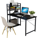Computer Desk Simple Bookshelf Combination Desktop Table Student Home Bedroom Simple Learning Table for Home Office