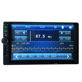 7018B 7 inch HD Bluetooth Car Stereo Touch Screen MP5 MP4 Display Long Version Ondersteuning Achteraanzicht