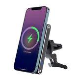 Bakeey M5 15W Bezprzewodowa magnetyczna ładowarka samochodowa Magsafe do iPhone'a 12 Mini / 12 Pro/12 Pro Max do Samsung Galaxy Note S20 ultra Huawei Mate40 OnePlus 8 Pro