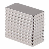 10pcs N50 20x10x2mm Neodymium Block Magnet Oblong Super Strong Rare Earth Magnets