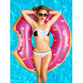 Cute Dessert Donuts Shape Pool Floats Inflatable Swimming La