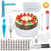 164PCS Baking Supplies Kit DIY Cake Cupcake Decorating Icing Tips Set Tools