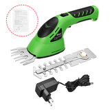 2 In 1 Rechargeable Cordless Pruning Shears Grass Lawn Mower Garden Hedge Trimmer