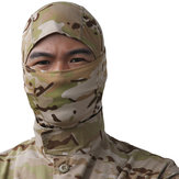 Taktische Vollmaske Hood Headgear Caps Camouflage Jagd Hut Winter Neck Schal