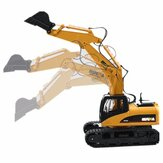 HuiNa Toys 1550 15Channel 2.4G 1/12RC Metal Excavator Charging RC Car