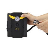 Auto 12V DC Portable Air Car Pump Electric Compressor Tire Pressure Inflator With 3 Air Mouth
