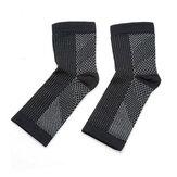 1 paire de chaussettes Magnetische Voetbrace pieds manches porter cuivre infusé support de pied magnétique Compression cheville brace chaussettes