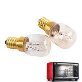 E14 T20 15W 25W 300 gradi forno ad alta temperatura di cottura a vapore del tostapane di toaster lampada AC220-240V