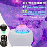 Controllo vocale a 32 modalità LED Luce notturna stellata Sky Laser proiettore USB Party lampada + telecomando