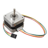 42mm 12V Nema 17 totrins trinmotor til 3D-printer