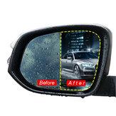 2 stuks auto achteruitkijkspiegel beschermfolie Nano coating regendicht anti fog 175x200mm