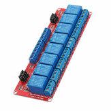 5V 8-канальный модуль реле оптронного триггерного уровня Geekcreit для Arduino - продукты, которые работают с официальными платами Arduino