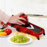KreativerotSlicerGemüseObstCutter Mit Edelstahl Klinge Manuelle Kartoffelschäler Karottenreibe Küche Werkzeuge Gadgets