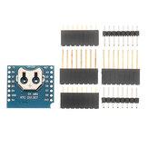 3Pcs Geekcreit® RTC DS1307 Real Bouclier d'horloge pour mini-carte de développement D1