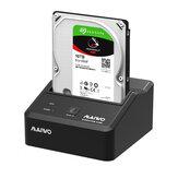 MAIWO K300U3S USB3.0 إلى SATA Docking Station قاعدة حاوية القرص الصلب لمحرك الأقراص الصلبة 2.5 / 3.5