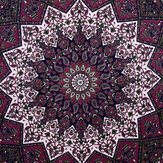 Indian Star Tapestry Hippie Mandala Psychedelic Print Wall Hanging Tapestry Photographic Cloth Art Home Decor For Decorations