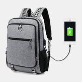 Męski port ładujący USB Duża pojemność 16-calowy wielofunkcyjny plecak na co dzień