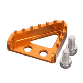 CNC Billet Rear Brake Pedal Step Plate Tip For Enduro Motocross KTM 125-530 XCF