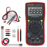 ANENG AN882B+ True RMS Digital Multimeter 6000 Counts With Auto Range Backlight  Data Hold AC/DC Voltage and Current Test Temperature Measurement