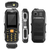 HAIYU 2.0 Inch 4800mah GSM Carriers Dual Sim Cell Phone Long Stand-by Rugged Phone