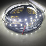 2 PCS 5 M SMD5050 300 LED Branco Puro Não-Impermeável Fita Flexível Faixa de Luz Da Lâmpada DC12V