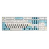 130 klawiszy sprężynowy zestaw nasadek na klawisze z falbaną XDA Profile PBT nasadki sublimacyjne do klawiatury mechanicznej