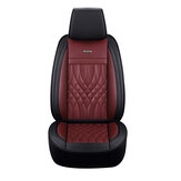 Universal Full Car Seat Cover Auto Breathable PU Leather Chair Cushion Pad