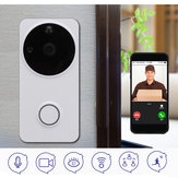 Telefone sem fio WiFi Campainha Telefone remoto Vídeo 2-Way Conversa Áudio Home Security