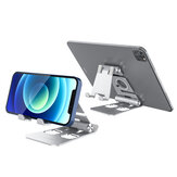 BlitzWolf® BW-TS4 3 in 1 Tablet / Phone Holder Portatile Pieghevole Online Learning Live Streaming Desktop Stand Guarda Tablet Phone Holder per iPhone 12 Poco X3 NFC