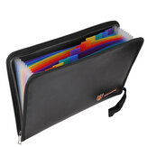 Fireproof File Folder Portable Heat Resistant Document Bag Bills Storage Organizer Home School Business Office Document Storage
