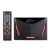 GTMEDIA V8 UHD DVB-S2 T2 Satellite Receiver 4K H.265 VP9 T2-MI DVB-S DVB+T ISDB-T Cable(J83.A/C) ATSC-C(J83.B) 2.4G WIFI TV Signal Receiver Support IPTV CCcams
