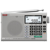 Panda 6206 FM MW SW Full Bande Radio DSP Tuning numérique Haut-parleur portable Lecteur de musique MP3