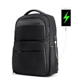 ARCTIC HUNTER B00113C Laptop-Rucksack Männlicher USB-Laderucksack Laptop-Tasche Männer Casual Travel Nylon Rucksäcke Schule Umhängetasche