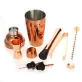 7Pcs Stainless Steel Bartender Kit Cocktail Boston Shaker Barware Set